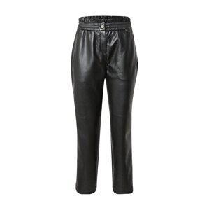 COMMA Kalhoty  černá