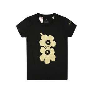 ADIDAS PERFORMANCE Funkční tričko  černá / zlatá