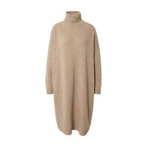 Weekend Max Mara Úpletové šaty 'FASCINO'  béžový melír