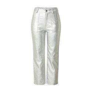EDITED Kalhoty 'Eriko'  stříbrná