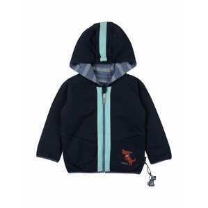 SIGIKID Přechodná bunda  tmavě modrá / kouřově modrá / bílá / nefritová / rezavě hnědá