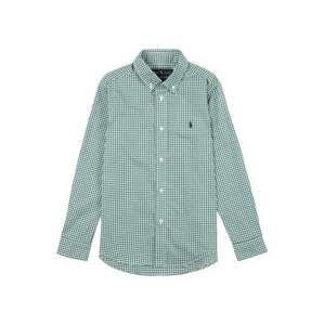 Polo Ralph Lauren Košile  bílá / trávově zelená