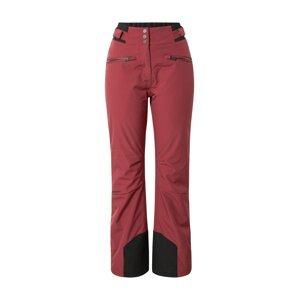 ZIENER Outdoorové kalhoty 'Tilla'  bobule / černá