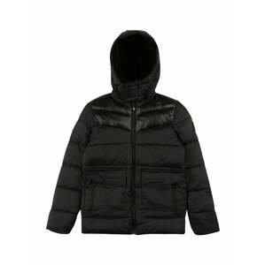 Petrol Industries Zimní bunda  černá