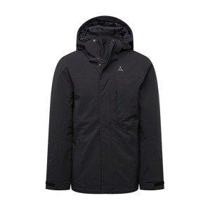 Schöffel Outdoorová bunda 'Bastianisee'  černá / šedá