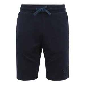 Emporio Armani Kalhoty  tmavě modrá