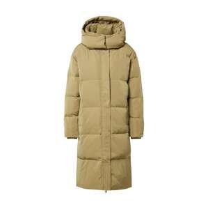 NORR Zimní kabát 'New Selma'  olivová