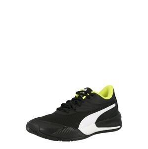 PUMA Sportovní boty 'Triple'  černá / bílá