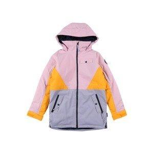 BURTON Sportovní bunda 'Khione'  pink / žlutá / světlemodrá