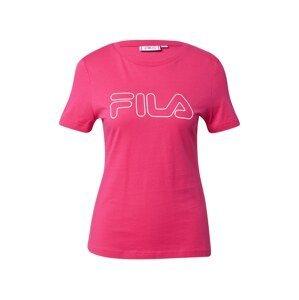 FILA Funkční tričko 'Ladan'  pink / šedá