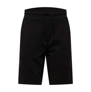 BOSS ATHLEISURE Kalhoty 'Headlo 2'  černá