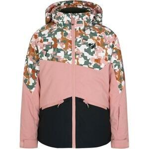 ZIENER Sportovní bunda 'ANTARKTIKA'  černá / růžová / mix barev