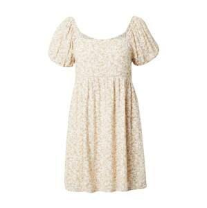 American Eagle Letní šaty  krémová / bílá