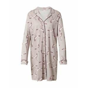 CALIDA Noční košilka  velbloudí / bílá / bobule