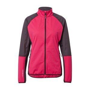 Rukka Sportovní bunda 'METVI'  pink / černá