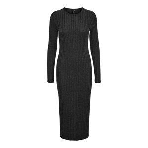 Vero Moda Tall Úpletové šaty 'Tamika'  tmavě šedá