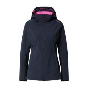 CMP Outdoorová bunda  marine modrá / pink