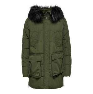 JDY Zimní bunda 'Dawson'  tmavě zelená