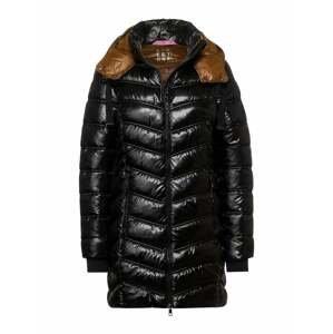 STREET ONE Zimní bunda  černá