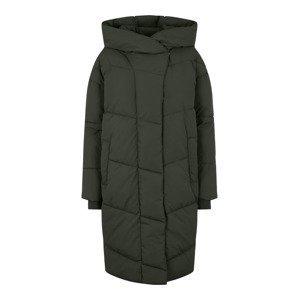 Noisy may Zimní kabát 'Tally'  tmavě zelená