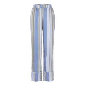 PIECES Kalhoty 'Sienna'  modrá / mix barev