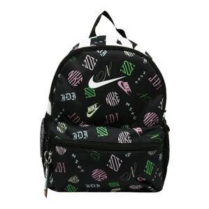 Nike Sportswear Batoh 'Brasilia'  černá / bílá / růžová / limetková / světle žlutá