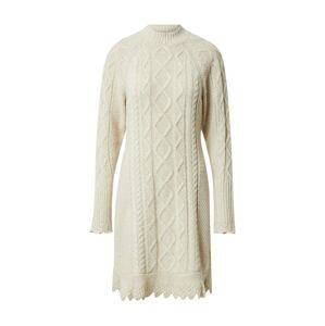 Polo Ralph Lauren Úpletové šaty 'ARAN'  béžová