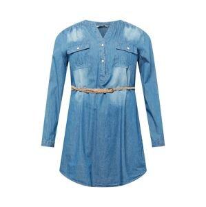 Z-One Tunika 'Patty'  modrá džínovina