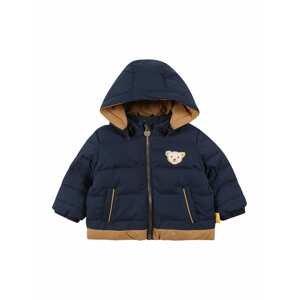 Steiff Collection Přechodná bunda  námořnická modř / světle hnědá