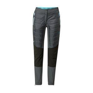 CMP Outdoorové kalhoty  tmavě šedá / černá / modrá