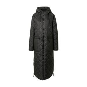 ILSE JACOBSEN Zimní kabát  černá