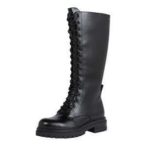 Xti Šněrovací boty  černá