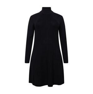 ESPRIT Úpletové šaty  černá