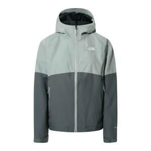 THE NORTH FACE Outdoorová bunda  čedičová šedá / světle šedá