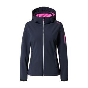 CMP Outdoorová bunda  námořnická modř / pink