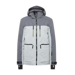 KILLTEC Outdoorová bunda  šedá / světle šedá