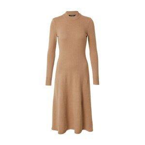 Lauren Ralph Lauren Úpletové šaty  velbloudí