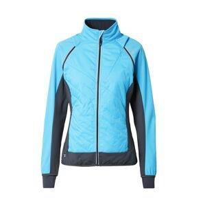 CMP Outdoorová bunda  tyrkysová / tmavě modrá / bílá
