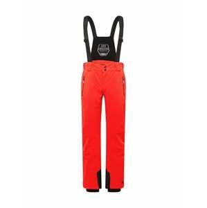 KILLTEC Outdoorové kalhoty 'Enosh'  světle červená / černá