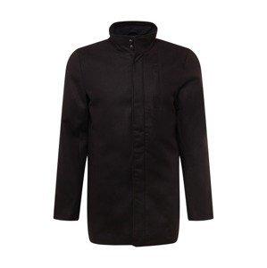 BLEND Přechodný kabát  černá