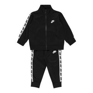Nike Sportswear Tepláková souprava  černá / bílá