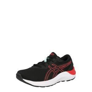 ASICS Sportovní boty  černá / korálová