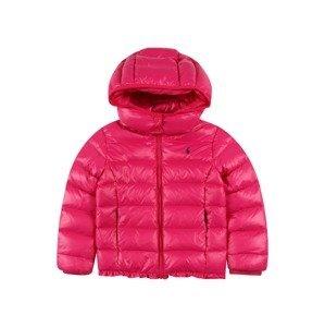 Polo Ralph Lauren Zimní bunda 'CHANNEL'  tmavě růžová