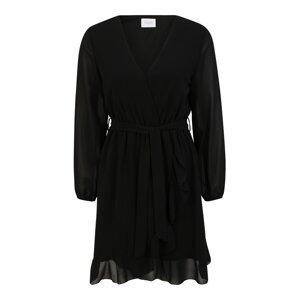 SISTERS POINT Koktejlové šaty 'NEW GRETO'  černá