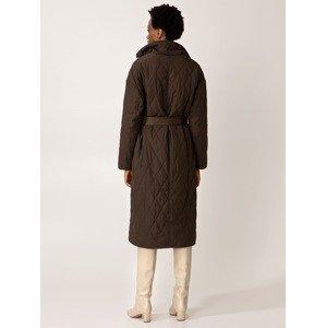 Indiska Zimní kabát  hnědá