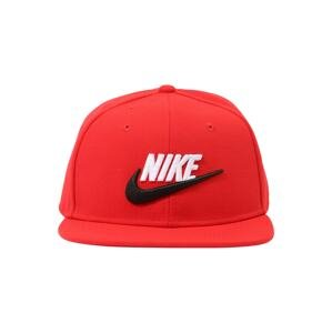 Nike Sportswear Klobouk 'Futura 4'  červená / bílá / černá