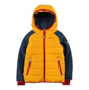 TROLLKIDS Outdoorová bunda  červená / tmavě modrá / oranžová