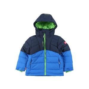 TROLLKIDS Outdoorová bunda  námořnická modř / tyrkysová / limetková