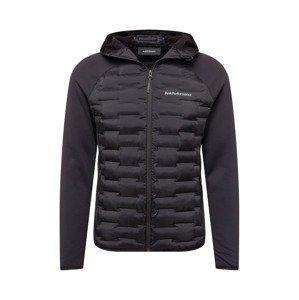 PEAK PERFORMANCE Sportovní bunda 'Argon'  černá / bílá