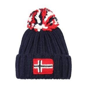 NAPAPIJRI Čepice 'SEMIURY'  námořnická modř / bílá / červená